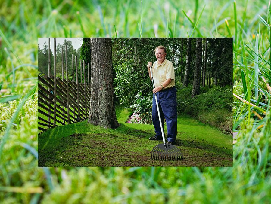 Klippa gräsmattan och sprida järnsulfat- Tips från Olle Berg