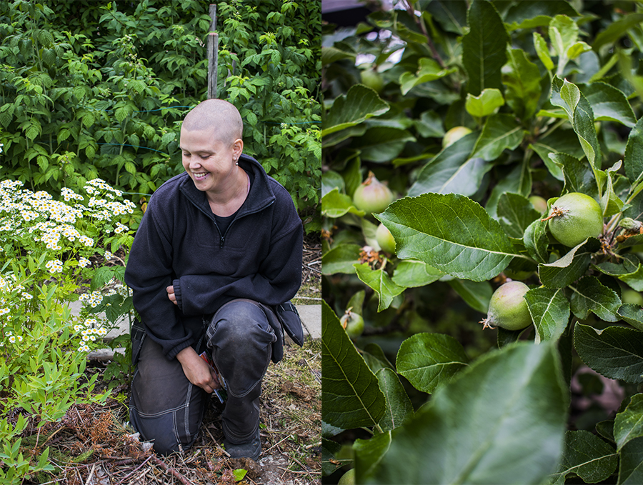 Trädgårdsarbete ska vara lustfyllt- Anna Visala
