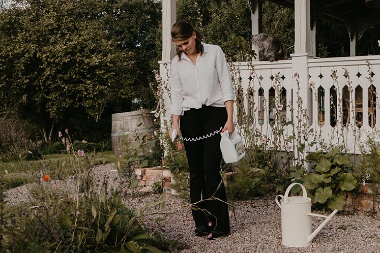 Johanna Berglund använder OgräsNIX Trippel Effekt